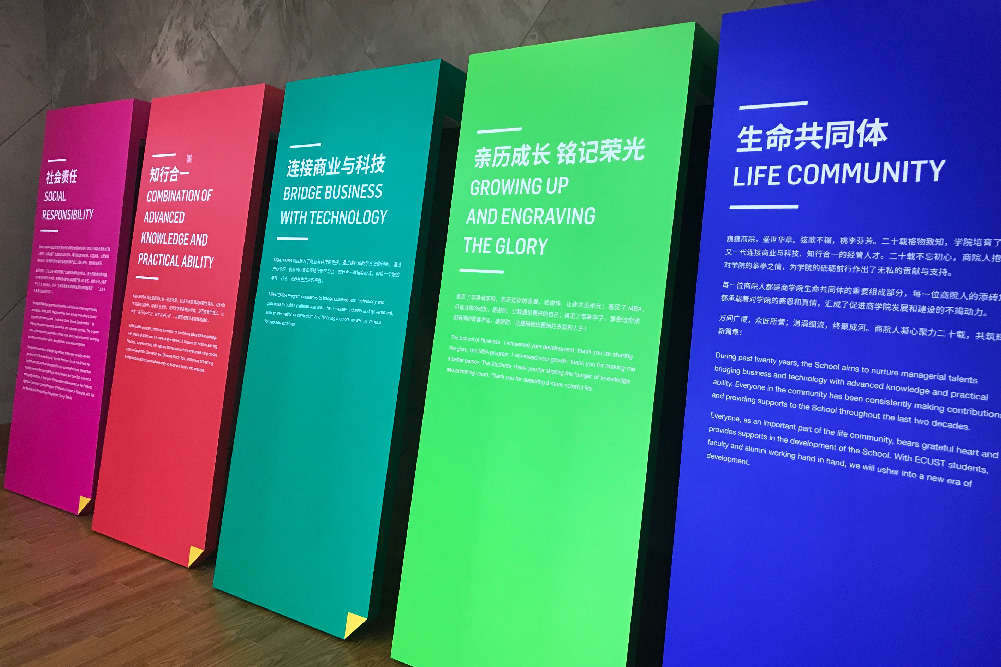 华理商学院MBA20周年设计