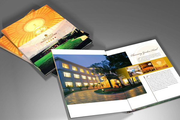 虹桥迎宾馆画册设计